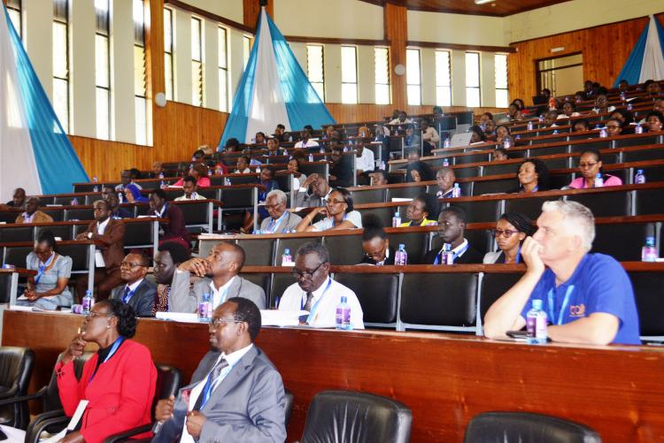 Participants following keenly on presentations