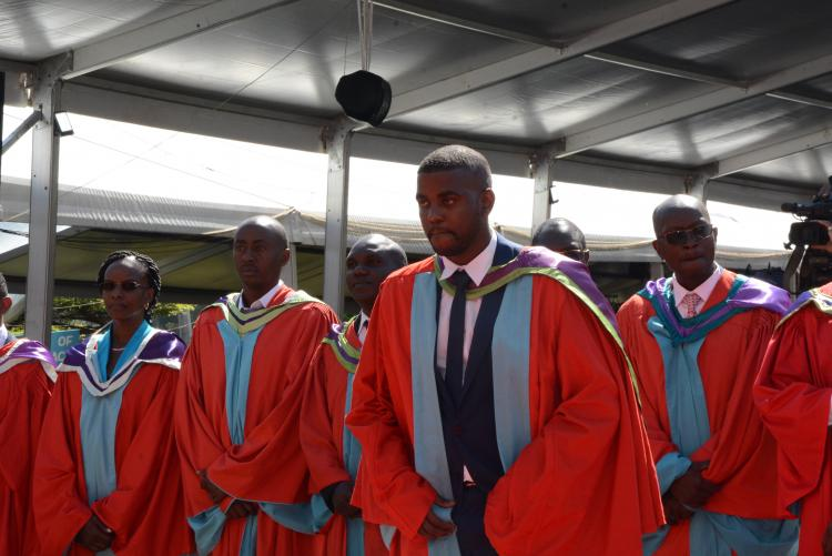 PHD graduands class of 2019