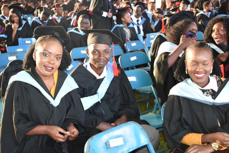Degree graduands
