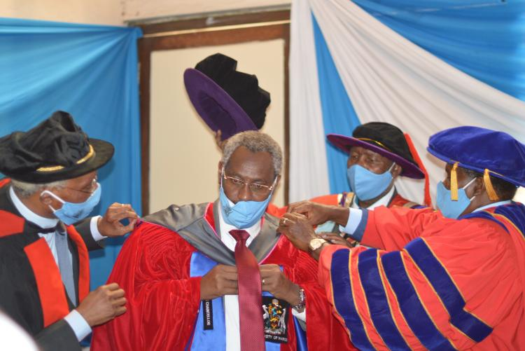 Installation of the 8th Vice Chancellor